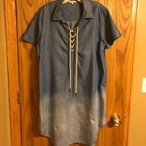 Denim Shirt/Dress.